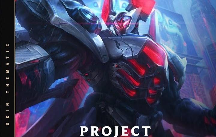 LOL源计划铁男原画放出!黑红色盔甲霸气十足,一看就是个大Boss