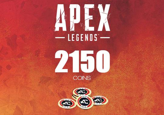 Apex英雄2150硬币充值