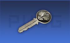 饰品开箱钥匙