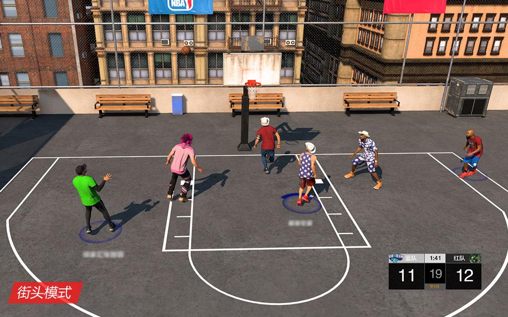 NBA2K21:街头模式