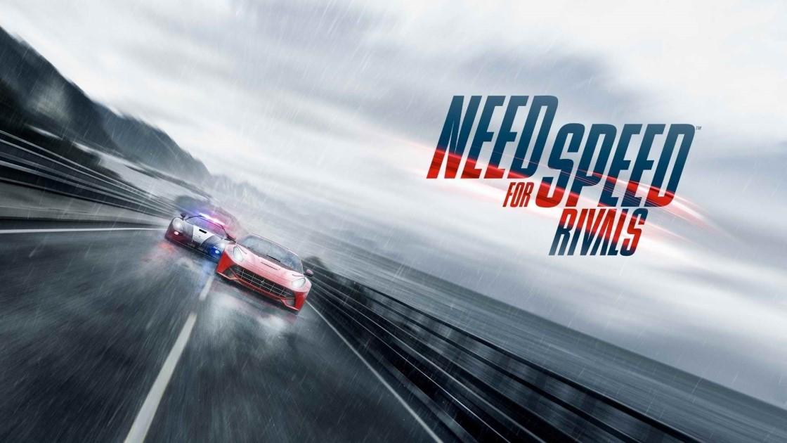 """极品飞车18离线版原版游戏名称""""Need for Speed : Rivals"""""""