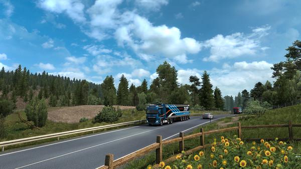欧洲卡车2:营造了一种在现实生活中驾驶汽车的感觉