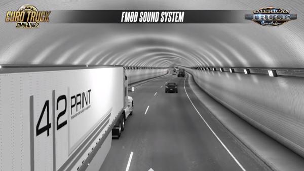 欧洲卡车2:穿过隧道