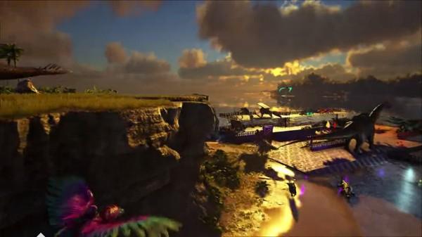 方舟:进化生存:80多种恐龙使用各种策略去驯服