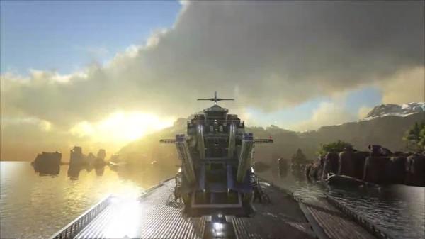 方舟:进化生存:进化生存采用的是虚幻引擎4打造,游戏的画面相当之华丽