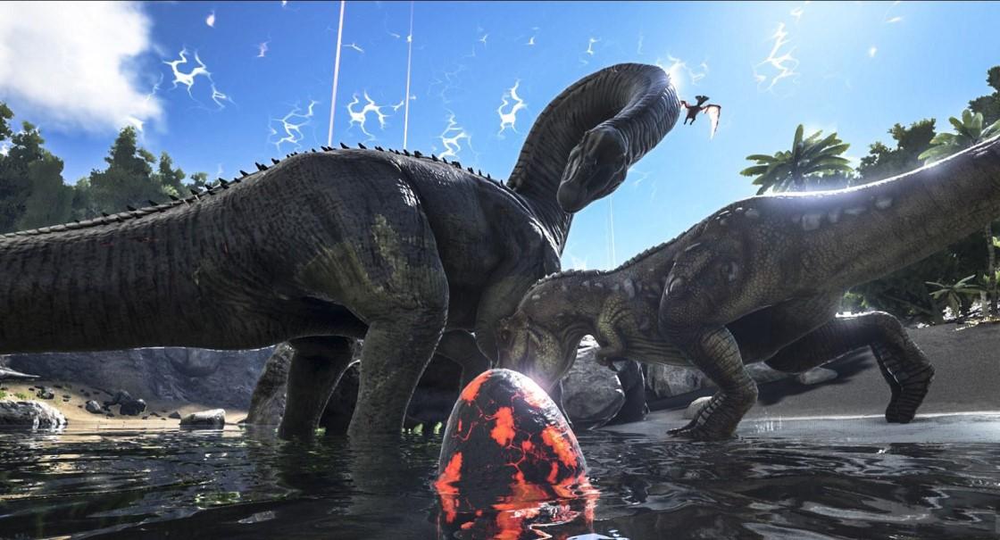 方舟进化生存:通过策略战术来驯服游戏中出现的各种恐龙和其他原始生物
