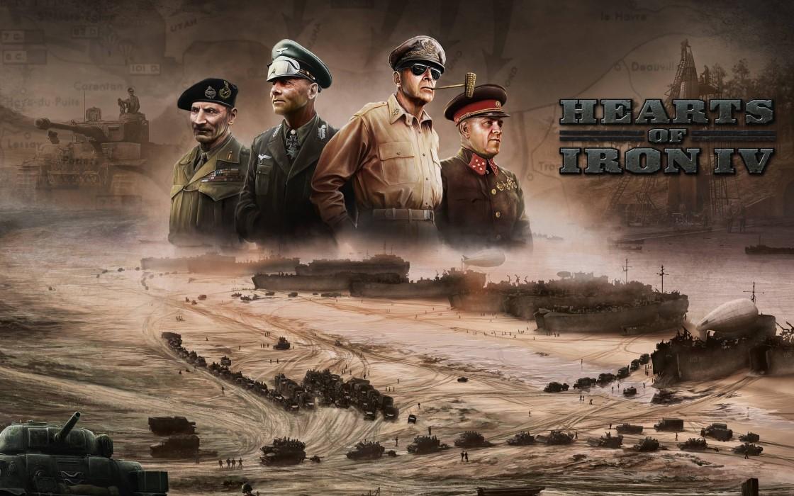 《钢铁雄心4》(Hearts of Iron IV)希特勒、丘吉尔、斯大林、罗斯福等人皆在其中