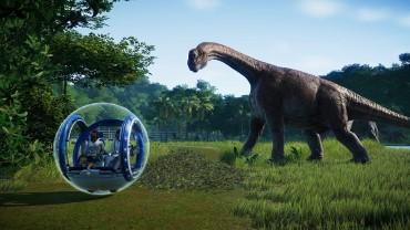 侏罗纪世界:进化逼真还原观光球