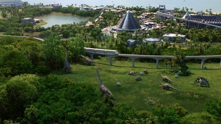 侏罗纪世界:进化有着相当精致的画面