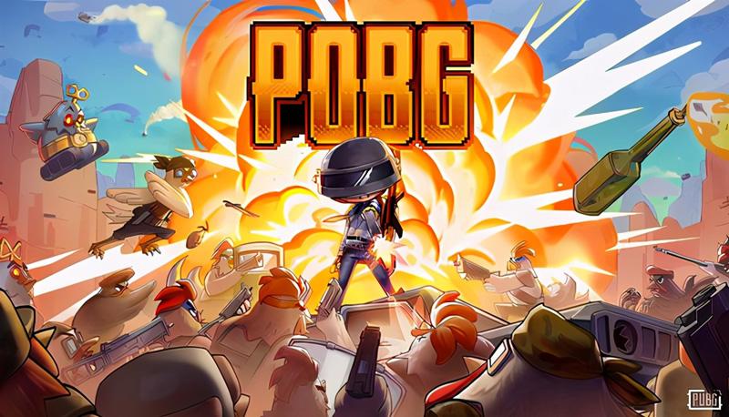绝地求生POBG玩法